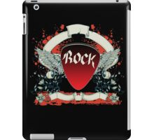 Rock and Roll Guitar Pick Wings iPad Case/Skin