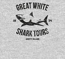 Great White Shark Tours (worn look) Unisex T-Shirt