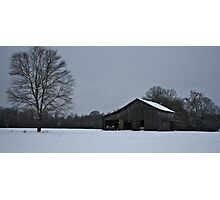 Rural Tennessee Barn Photographic Print