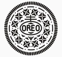 Oreo Cookie Symbol (Black) by NathanR38