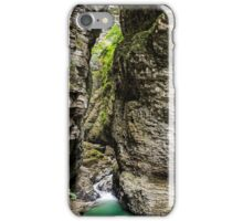 Ueble Schlucht Austria XII iPhone Case/Skin