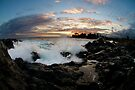 sunset in hawaii by Flux Photography