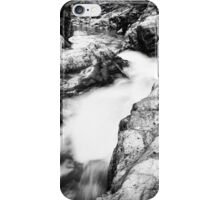 Ueble Schlucht Austria IX B&W iPhone Case/Skin