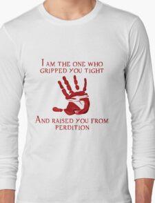 Supernatural Handprint  Long Sleeve T-Shirt