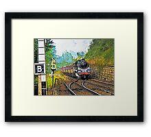 Steam Train at Goathland Framed Print