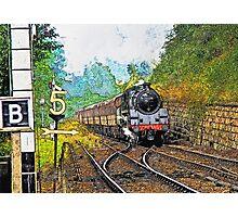 Steam Train at Goathland Photographic Print
