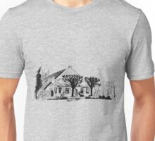 Farmhouse with lime trees Unisex T-Shirt