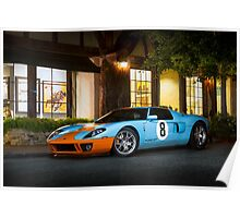 Gulf Ford GT Poster