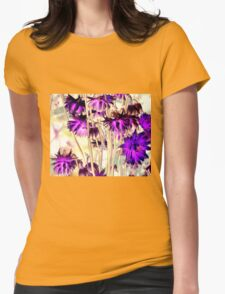 vibrant Summer Womens Fitted T-Shirt
