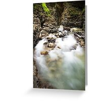 Ueble Schlucht Austria IV Greeting Card