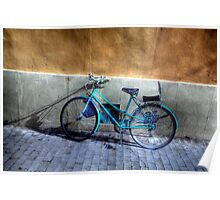 MY BLUE BICYCLE Poster