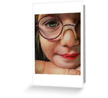 Glasses Greeting Card