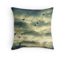 Stormy Skies.. Throw Pillow