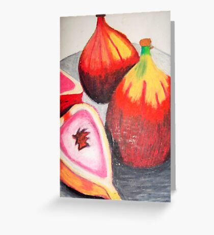 Passionfruit Still Life Greeting Card