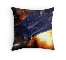 Mapping The Nebular Throw Pillow