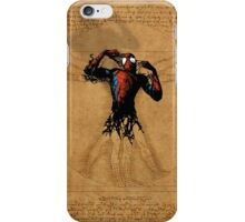 Vitruvian Spiderman iPhone Case/Skin