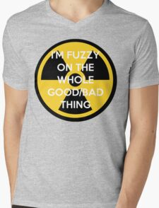 I'm Fuzzy On The Whole Good/Bad Thing Mens V-Neck T-Shirt