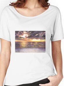 Sunset Beach Women's Relaxed Fit T-Shirt