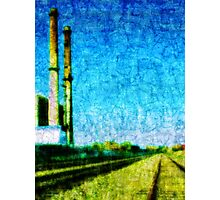 Factory Montreal Photographic Print