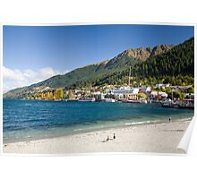Queenstown and Lake Wakatipu Poster