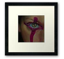 Make up Framed Print