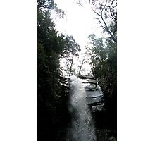 Silvery water Photographic Print