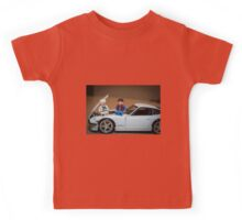 Doc and Marty on a Z Kids Tee