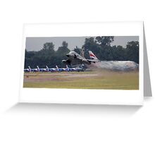 Mirage 2000 Take-Of Greeting Card