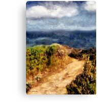 Aquamarine Afternoon Canvas Print