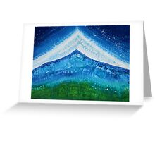 Upper World original painting Greeting Card