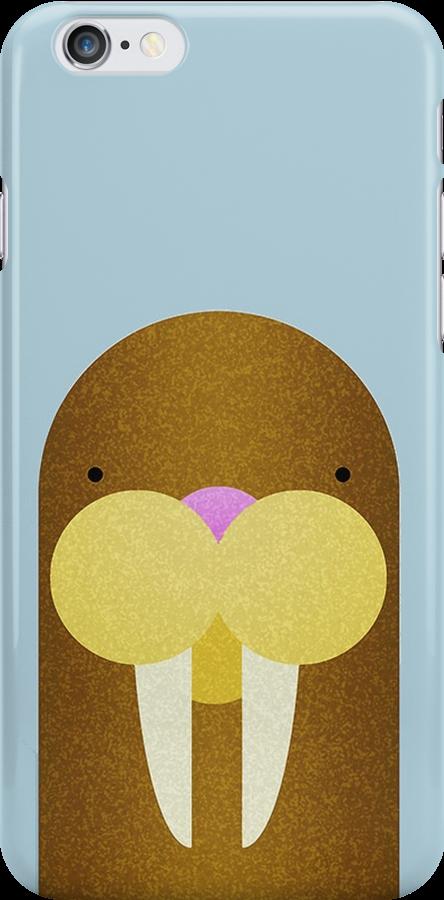 Peekaboo Walrus by Steven Isaac Wood