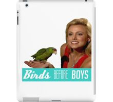 Birds Before Boys iPad Case/Skin