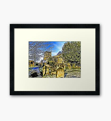 The Parish Church - Easingwold,North Yorkshire Framed Print