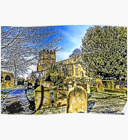 The Parish Church - Easingwold,North Yorkshire Poster