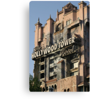 WDW Hollywood Studios Tower of Terror Canvas Print