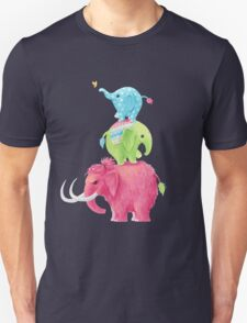 Elephants Unisex T-Shirt