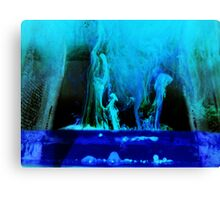 The world of the mystic Canvas Print