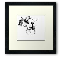 What Made Me Do It? Framed Print