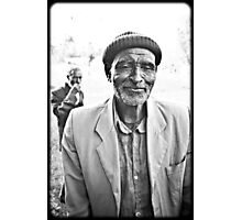 old man from ethiopia Photographic Print