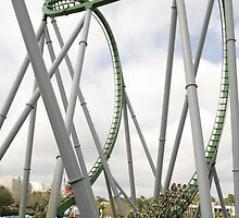 Islands of Adventure Hulk Rollercoaster by chewi