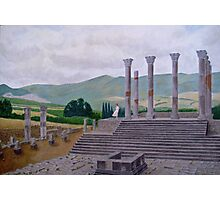 Ruins of Volubilis near Moulay Idris, Morocco Photographic Print