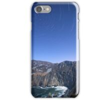 Star trails over Sliabh Liag iPhone Case/Skin