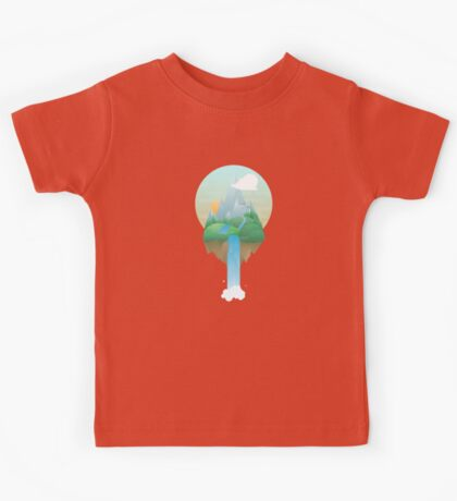 Our Island in the Sky Kids Tee