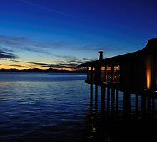 Skates on the Bay  •  Berkeley, California  •  Sunset by Richard  Leon