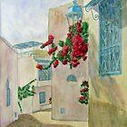 Siesta Time, Sidi Bou Said, Tunisia by johnpbroderick