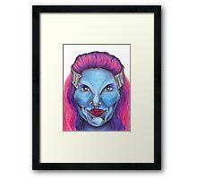 Delenn Framed Print