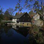 The Old Mill - Sciota, Pennsylvania by John Tomasko