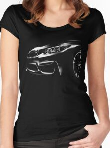 bmw m4 Women's Fitted Scoop T-Shirt