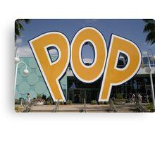 Walt Disney World Pop Century Canvas Print