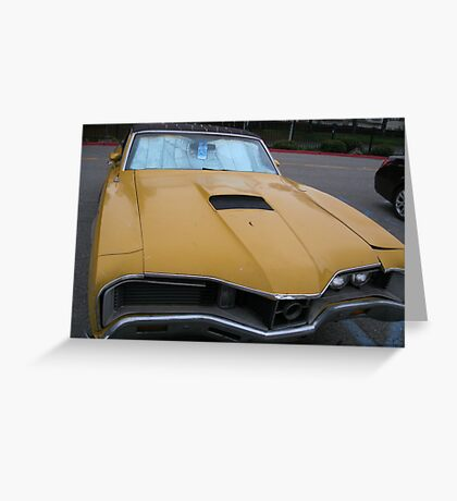 This classic car needs some TLC  Greeting Card